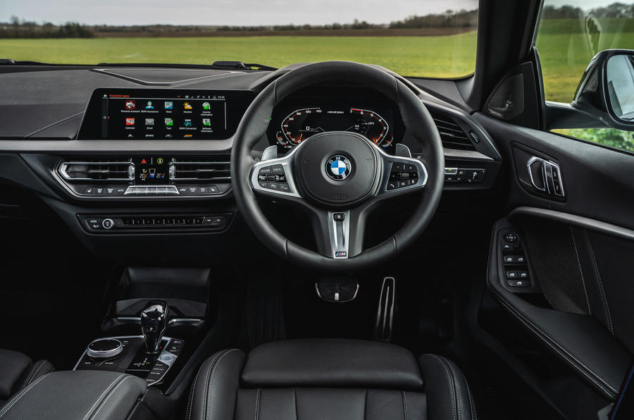 BMW 2 Series Gran Coupe M235i 2020 UK first drive review - dashboard