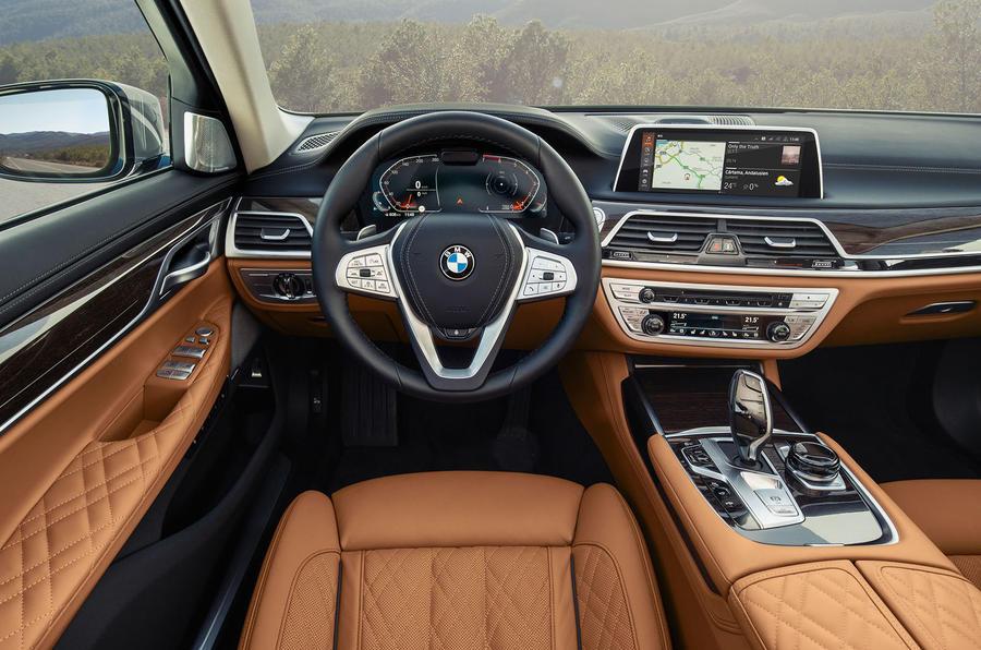 BMW 7 Series 750Li 2019 first drive review - dashboard