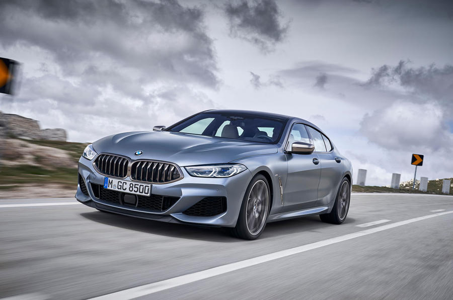 BMW 8 Series Gran Coupe 2019 first drive review - on the road front