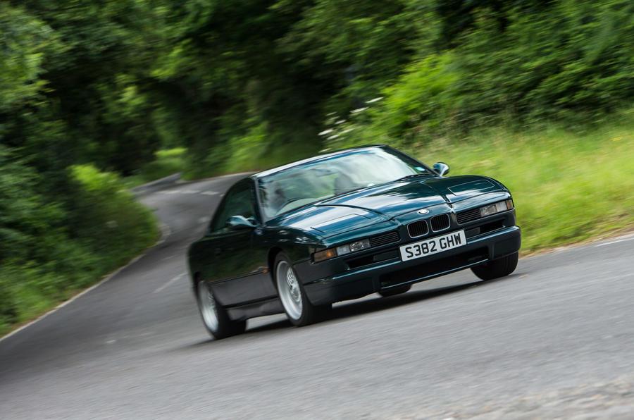 BMW 850 CSi - hero front