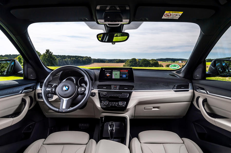 BMW X1 25d 2019 first drive review - dashboard
