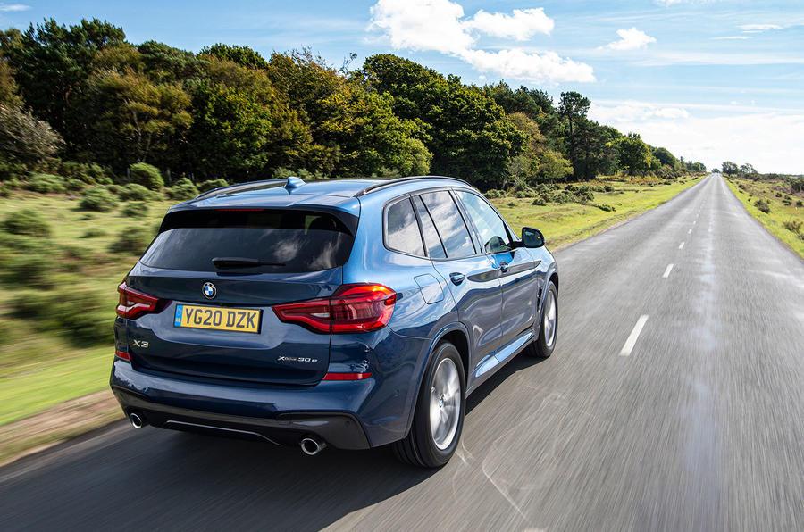 BMW X3 xDrive30e 2020 : premier bilan de conduite au Royaume-Uni - sur la route du retour