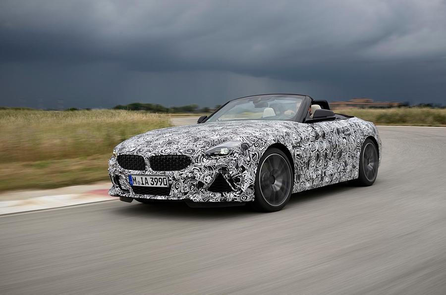 BMW Z4 prototype drive 2018 track front