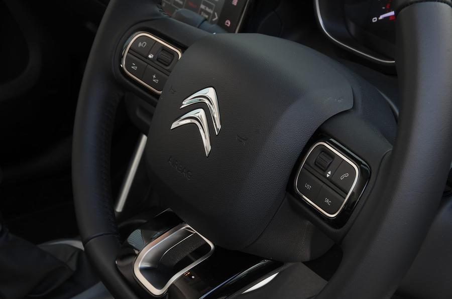 Citroen C3 Aircross Flair Puretech 130 long-term review - steering wheel