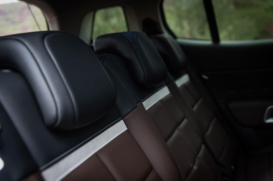 Citroen C5 Aircross 2018 first drive review - rear seats detail