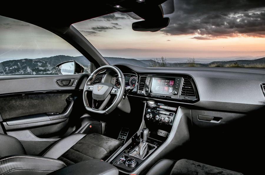 Cupra Ateca 2018 first drive review - cabin