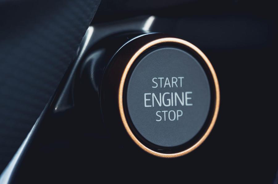 10 Cupra Formentor VZ2 2021 UE premier bouton de démarrage