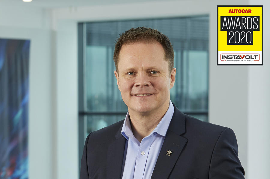 Autocar Awards 2020 Outstanding UK Leaders David Peel