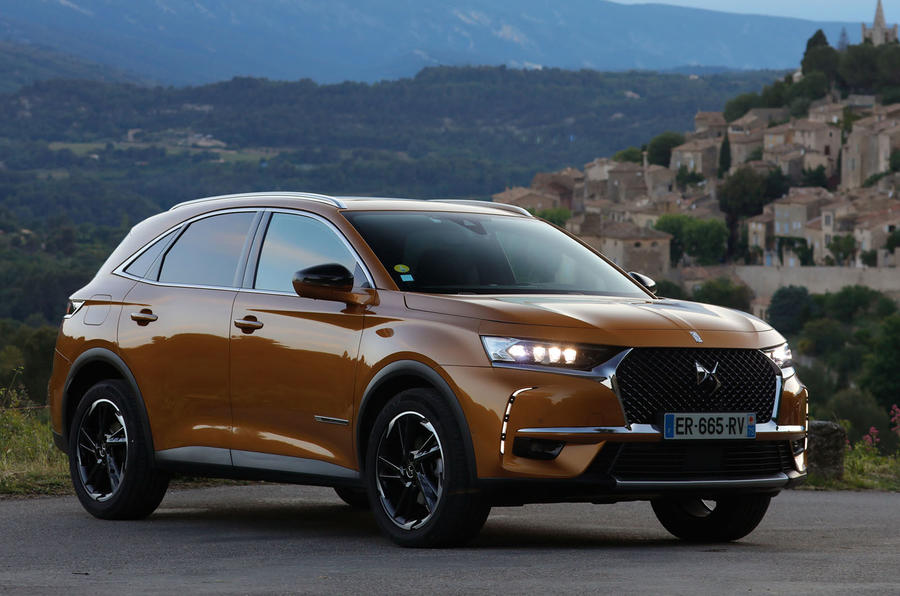 DS 7 Crossback PureTech 225 2018 review static