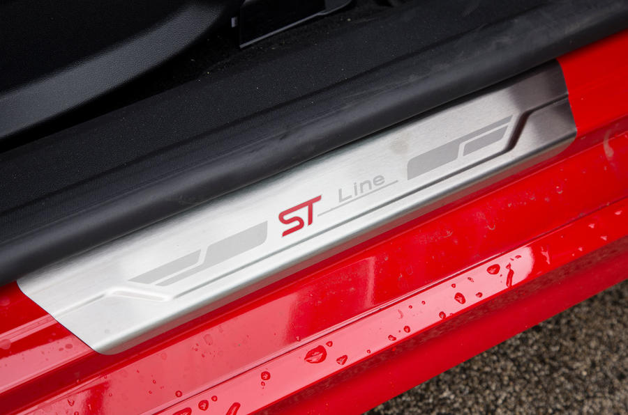 Ford Fiesta ST-Line 2018 long-term review scuff plates