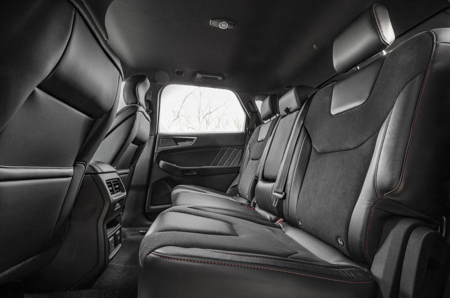 Ford Focus Active 2019 first drive review - rear seats