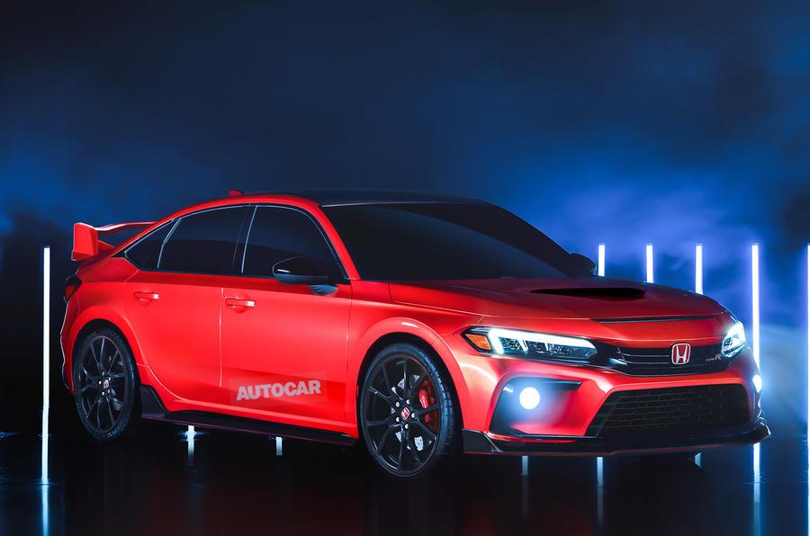Honda Civic Type R - render