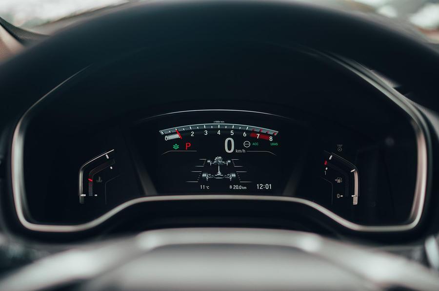 Honda CR-V 2018 first drive review digital dials