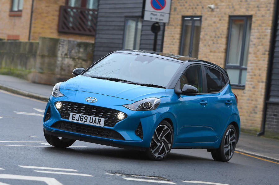 Hyundai i10 2020 UK first drive review - static