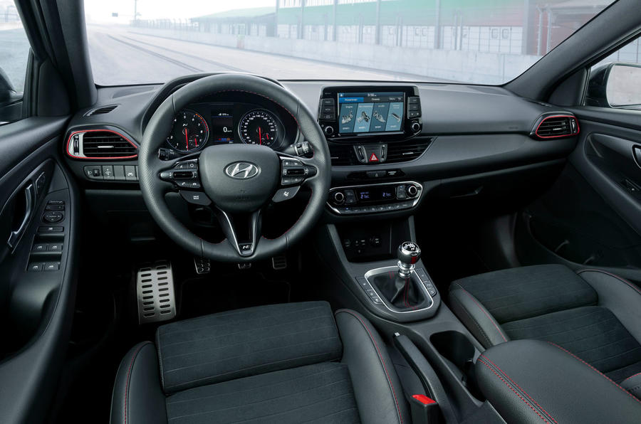 Hyundai i30 Fastback N 2019 first drive review - dashboard