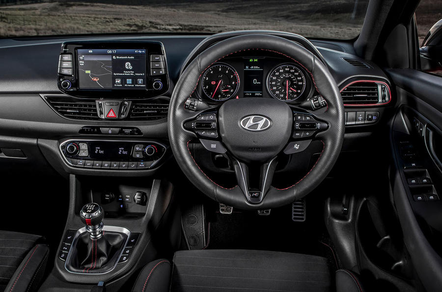 Hyundai i30 Fastback N 2019 UK first drive review - dashboard