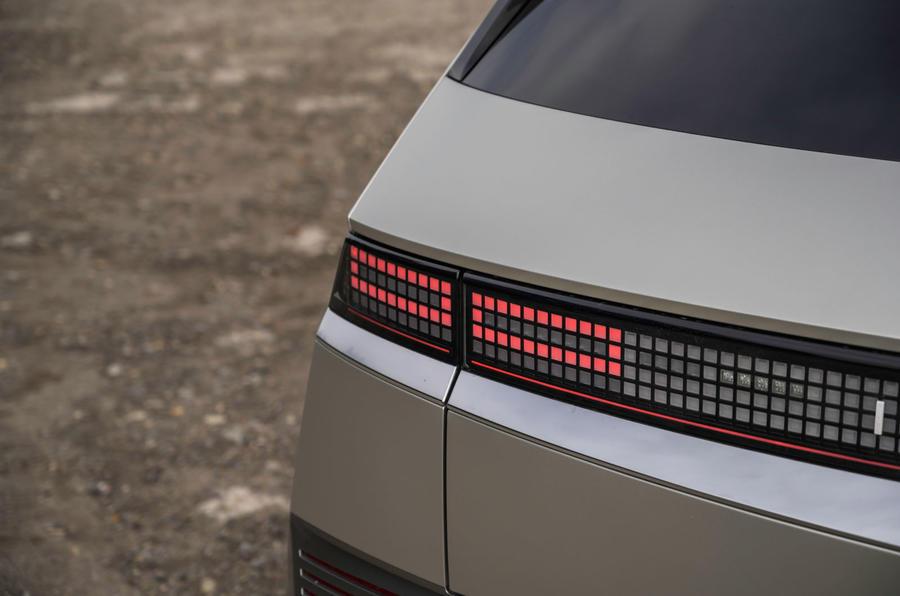 10 Hyundai Ioniq 5 2021 FD plaques de Norvège feux arrière