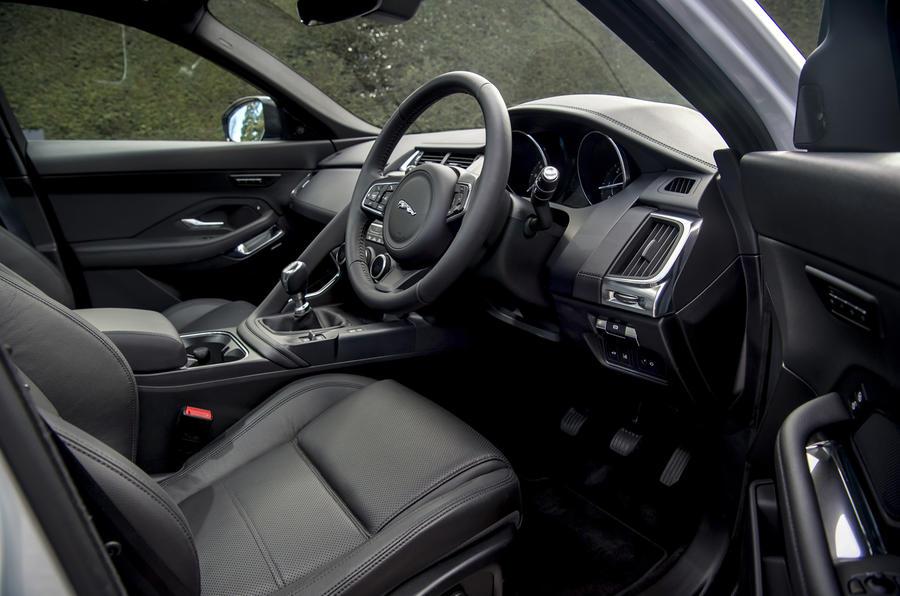 Jaguar E-Pace D150 2018 review cabin