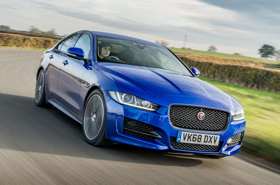 Jaguar XE 20t 2018 UK first drive review - on the road front
