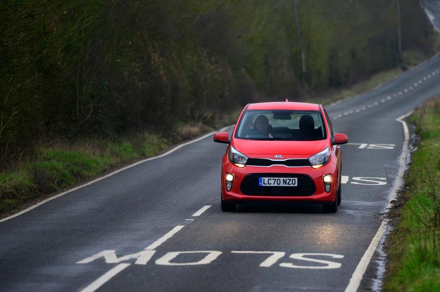 10 Kia Picanto 2021 : premier examen de conduite sur le front de la route