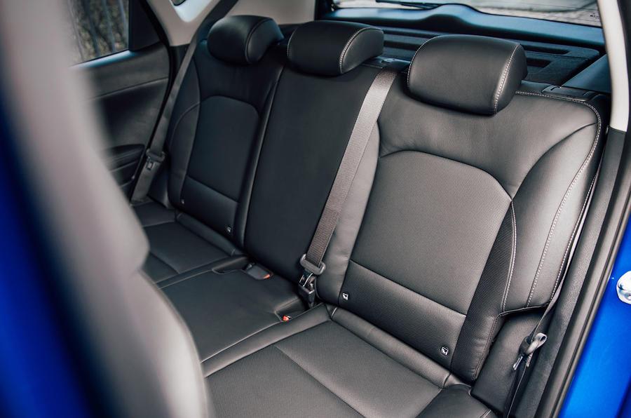 Kia Soul EV 2020 UK first drive review - rear seats
