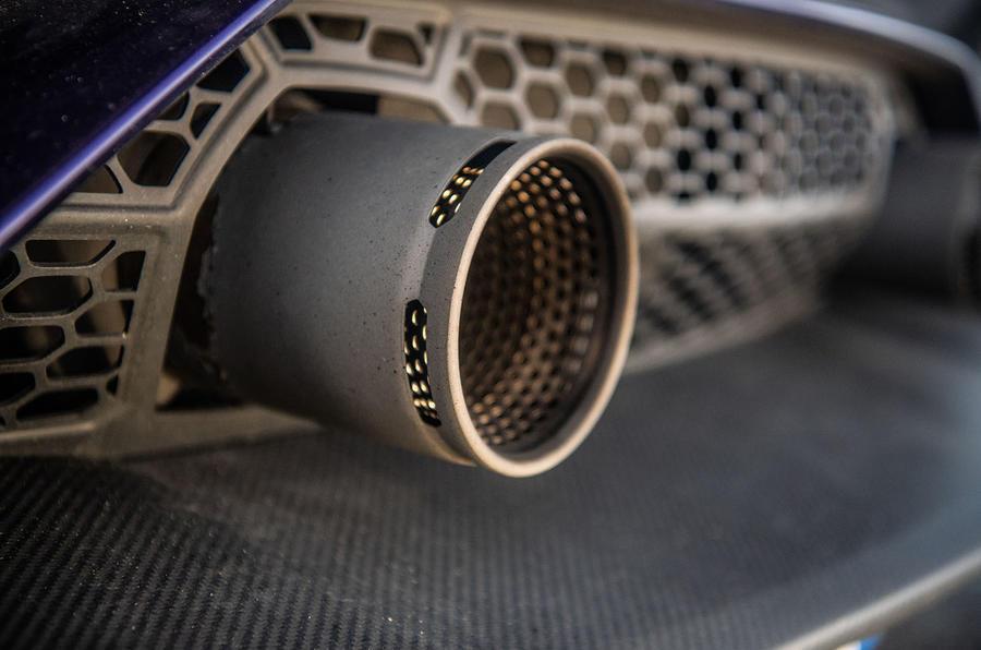 Lamborghini Aventador SVJ 2018 UK first drive review - exhausts