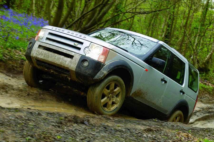 Land Rover Discovery Mk3 - static front