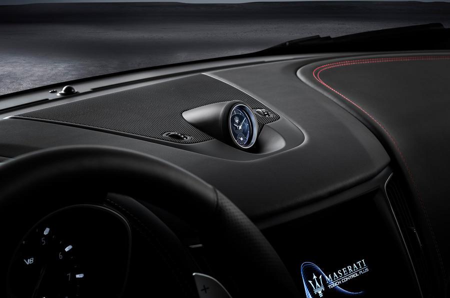 Maserati Levante Trofeo 2019 first drive review - clock