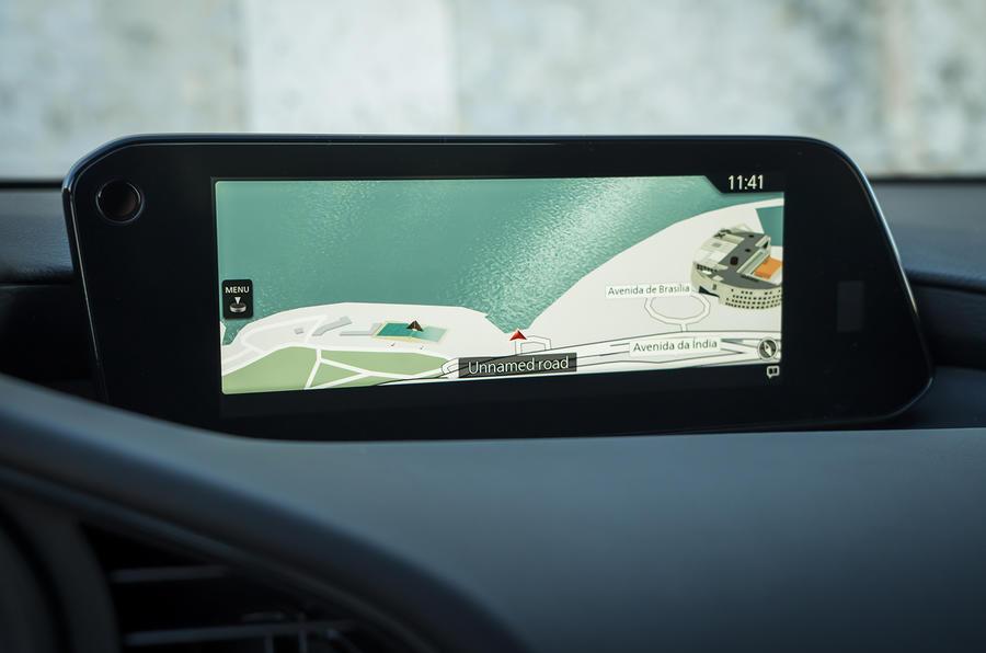 Mazda 3 2019 European first drive review - infotainment