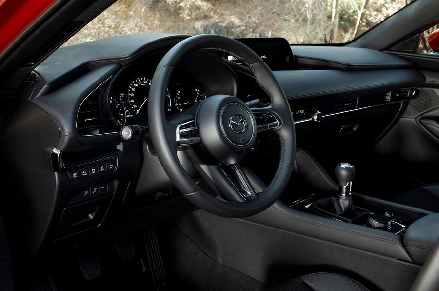 Mazda 3 2.0 Skyactiv-G 2019 first drive review - dashboard