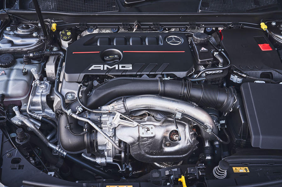 Mercedes-AMG A35 2019 UK first drive review - engine