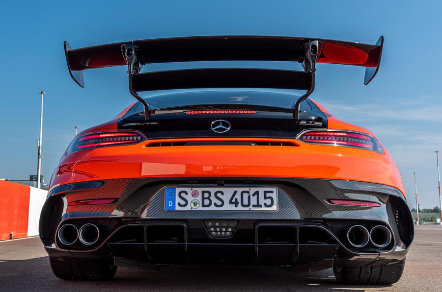 Mercedes-AMG GT Black Series 2020 : premier bilan de conduite - échappement