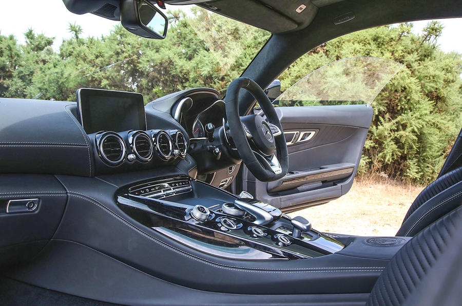 Mercedes-AMG GT C 2018 first drive review interior