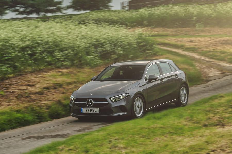 Mercedes-Benz A-Class A180 SE 2019 first drive review - front