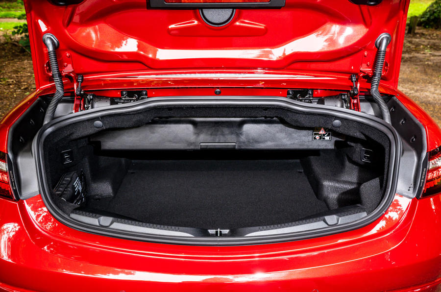 Mercedes-Benz E-Class e450 Cabriolet 2020 UK first drive review - boot