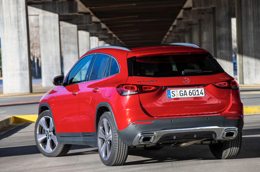 Mercedes-Benz GLA 220d 2020 first drive review - static rear