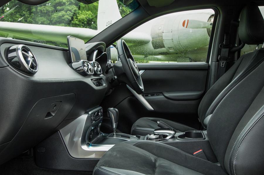 Mercedes-Benz X-Class longterm review cabin