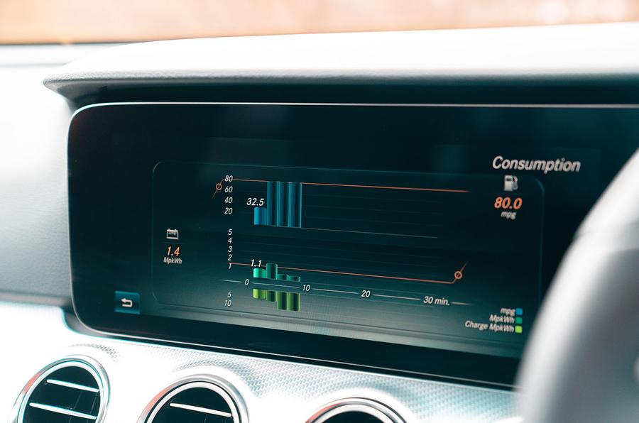 Mercedes-Benz E-Class E300de 2019 UK first drive review - infotainment