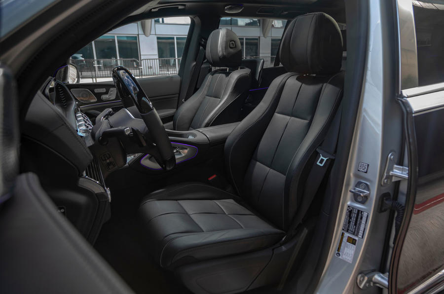 Mercedes-Maybach GLS 600 2020 first drive review - front seats