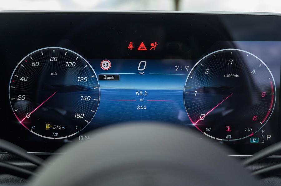 10 Mercedes Classe S S400d 2021 UE FD instruments de bord
