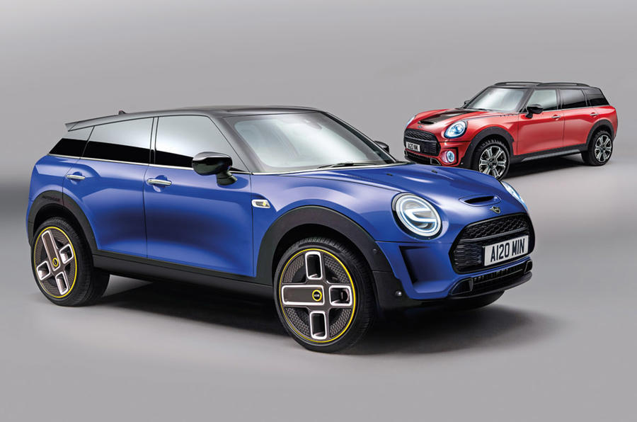 Mini EV and large SUV render