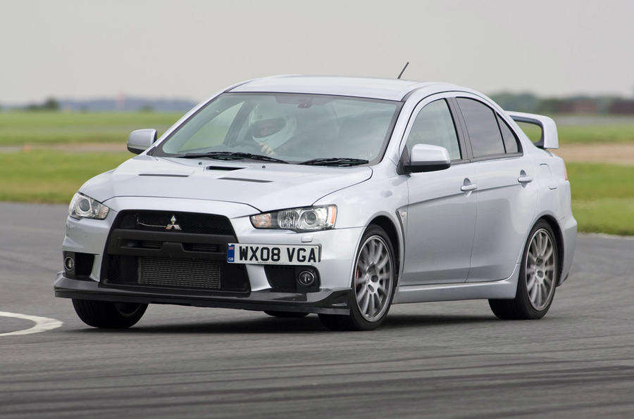 Mitsubishi Lancer Evo X - front