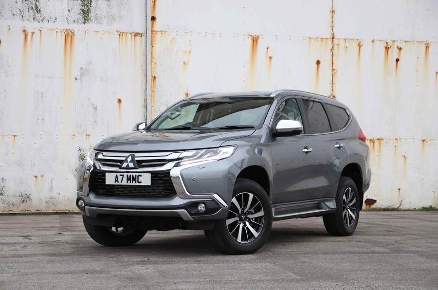 2018 Mitsubishi Shogun Sport - front