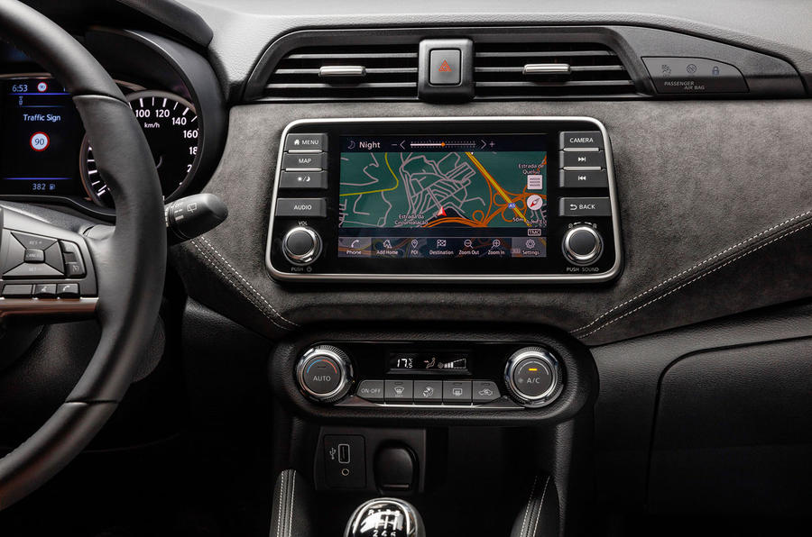 Nissan Micra 2019 first drive review - satnav
