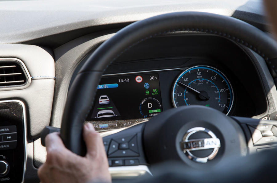Nissan Leaf 2nd generation (2018) long-term review cruise control
