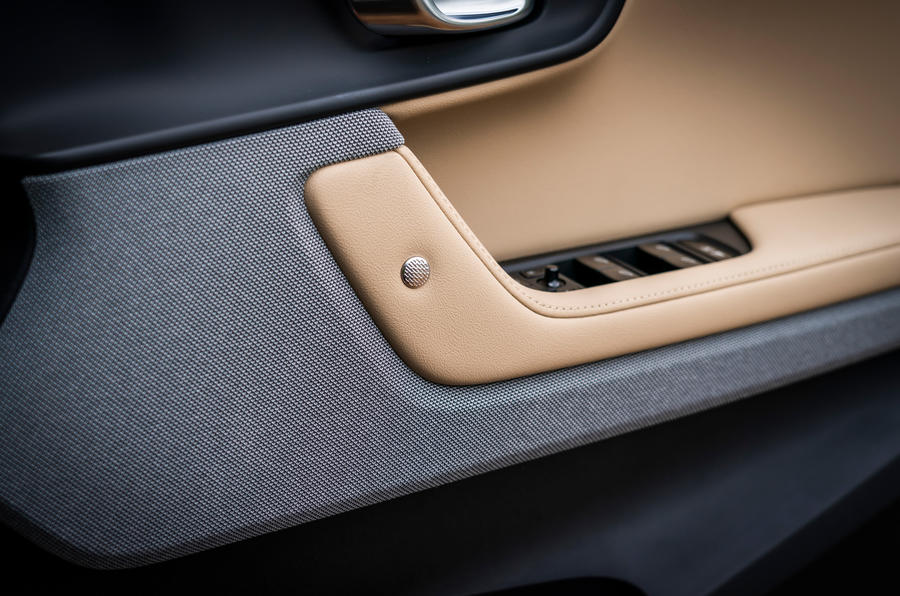 Polestar 2 2020 UK first drive review - door cards