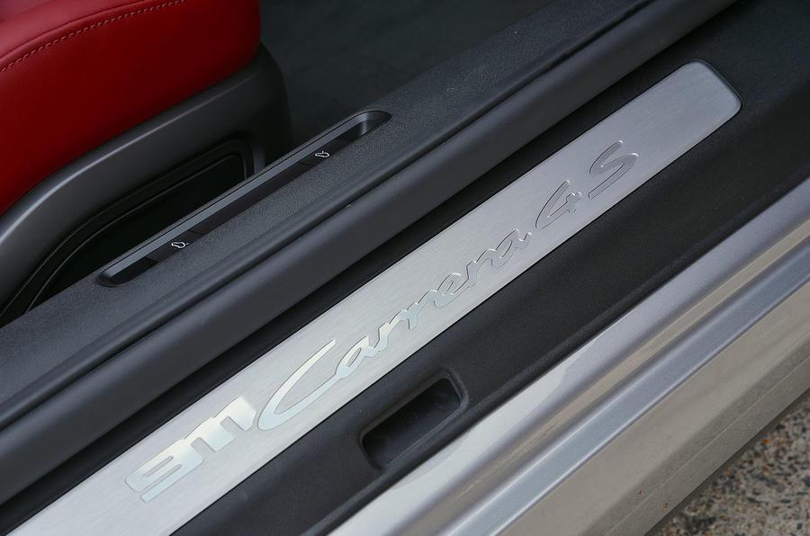 Porsche 911 Carrera 4S Cabriolet 2019 UK first drive review - scuff plates