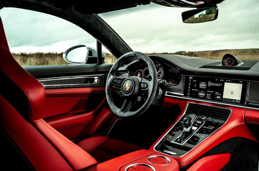 Porsche Panamera e-Hybrid 2020 UK first drive review - dashboard