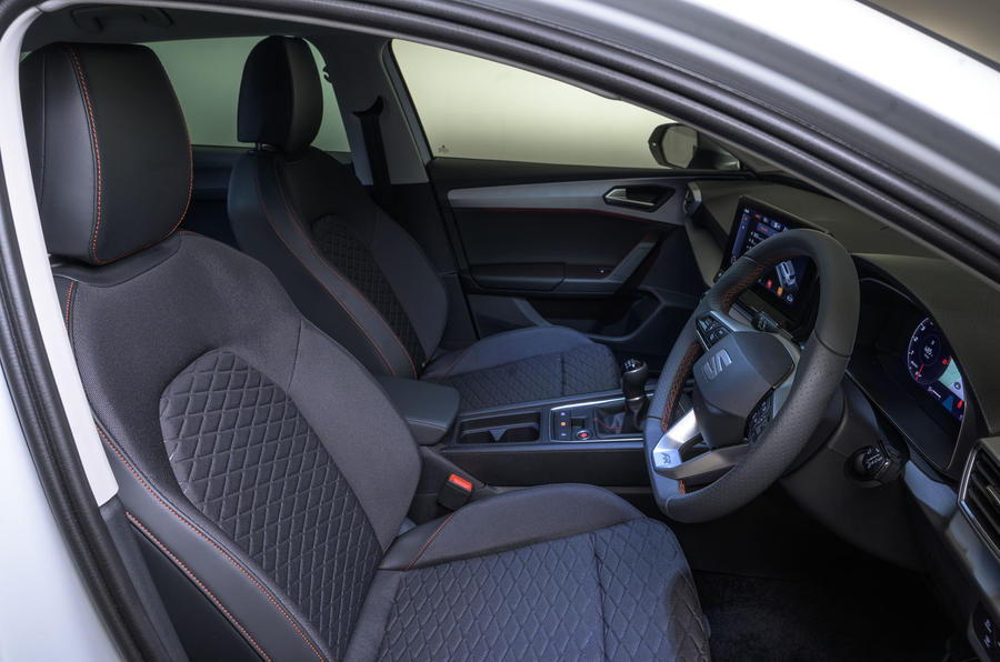Seat Leon 2020 UK first drive review - cabin