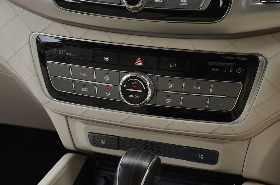 Ssangyong Rexton longterm review climate control